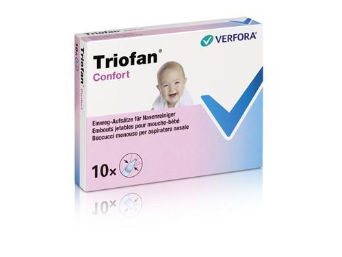 TRIOFAN Confort Aufsätze Nasenreiniger 10 Stk