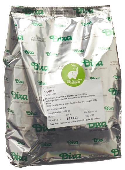 DIXA Schafgarbenkraut m Blüten PhEur BIO ges 500 g