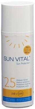 SUN VITAL Sun Protection Fl 125 ml