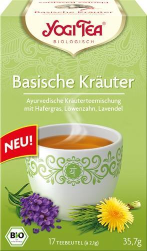YOGI TEA Basische Kräuter 17 Btl 1.8 g