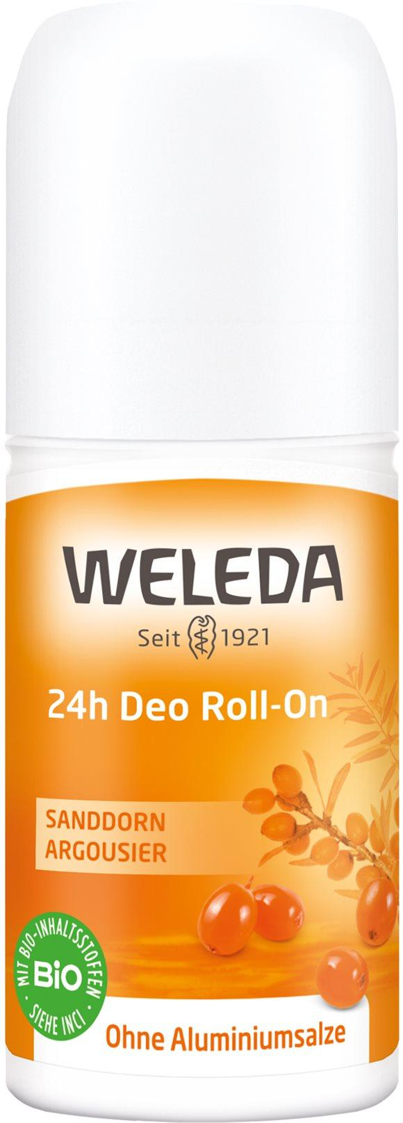 WELEDA Sanddorn 24h Deo Roll on 50 ml