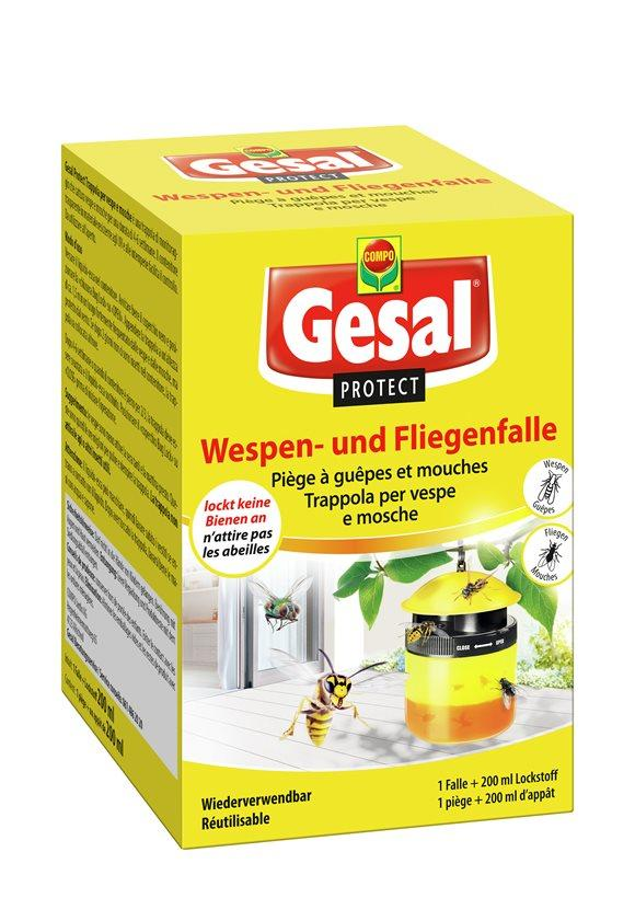 GESAL PROTECT Wespen-und Fliegenfalle 200 ml