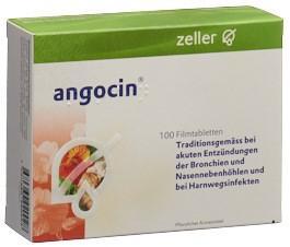 ANGOCIN Filmtabl 100 Stk