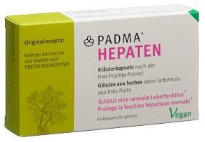 PADMA HEPATEN Kaps Blist 60 Stk