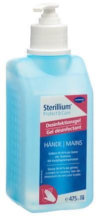 STERILLIUM Protect&Care Gel Fl 475 ml