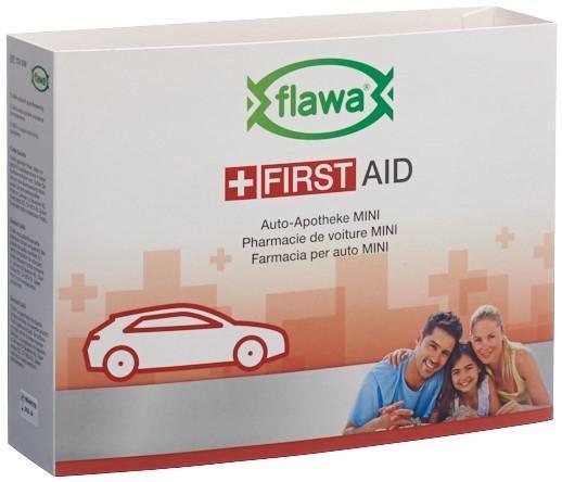 FLAWA Auto-Apotheke Mini Bag rot