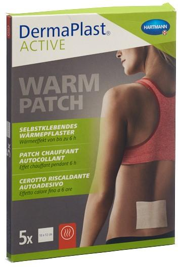 DERMAPLAST Active Warm Patch 5 Stk