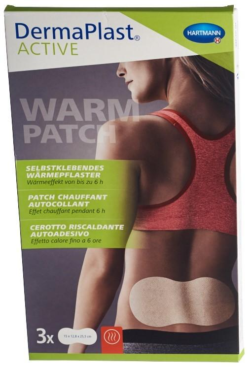 DERMAPLAST Active Warm Patch large 3 Stk
