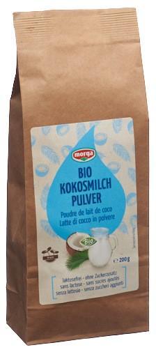 MORGA Kokosmilchpulver Bio Btl 200 g