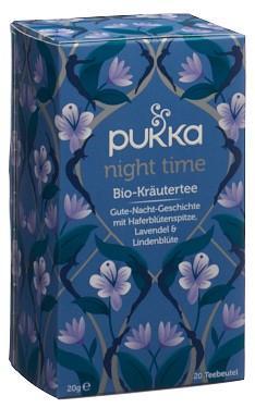 PUKKA Night Time Tee Bio Btl 20 Stk