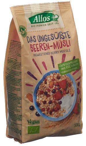 ALLOS Das ungesüsste Beeren-Müsli Btl 500 g
