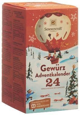 SONNENTOR Adventkalender Gewürze Btl 24 Stk