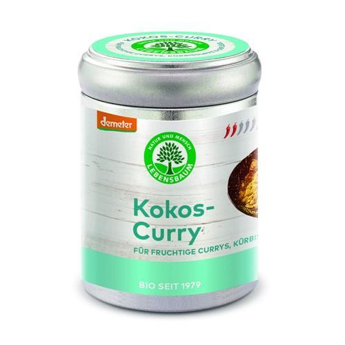 LEBENSBAUM Gewürzmischung Kokos-Curry Ds 65 g