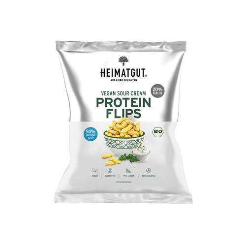 HEIMATGUT Protein Flips Sour Cream Style 75 g