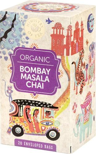 MINISTRY OF TEA Bombay Masala Chai Tee 20 x 1.5 g