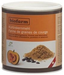 BIOFARM Kürbiskernmehl Knospe CH 250 g