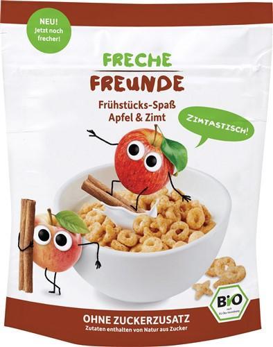 FRECHE FREUNDE Frühstücks-Spass Apfel&Zimt 125 g