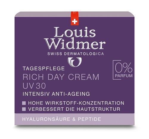 WIDMER Rich Day Cream UV30 unparf 50 ml