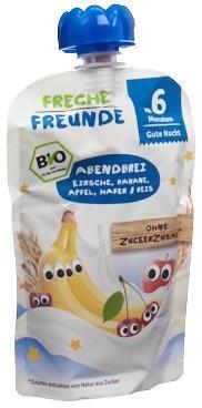 FRECHE FREUNDE Quetschmus Kirsche Bana&Apfel 100 g