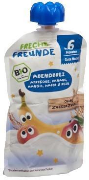 FRECHE FREUNDE Quetschmus Apriko Bana&Mango 100 g