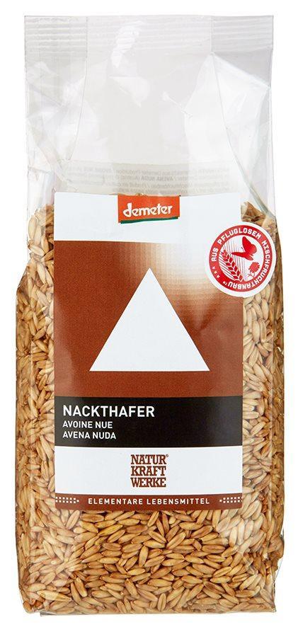 NATURKRAFTWERKE Nackthafer Demeter Btl 400 g