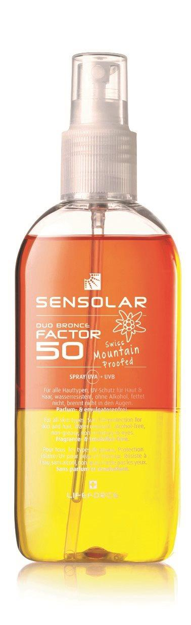 SENSOLAR Sonnenschutz o Emulgatoren LSF 50 100 ml