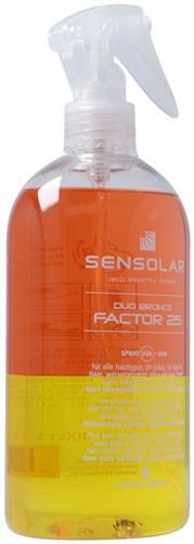 SENSOLAR Sonnenschutz o Emulgatoren LSF 25 400 ml