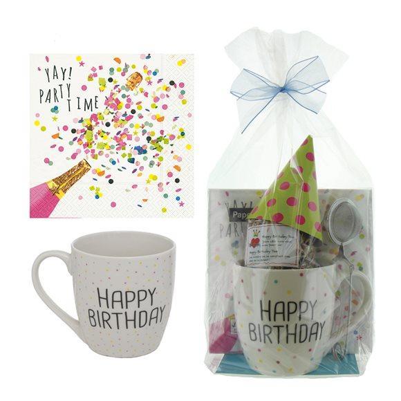 HERBORISTERIA Geschenkset Happy Birthday mit Tasse