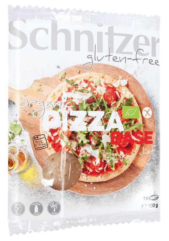 SCHNITZER Bio Pizzabase glutenfrei Einzelp 100 g