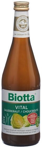 BIOTTA Vital Sauerkraut Fl 5 dl
