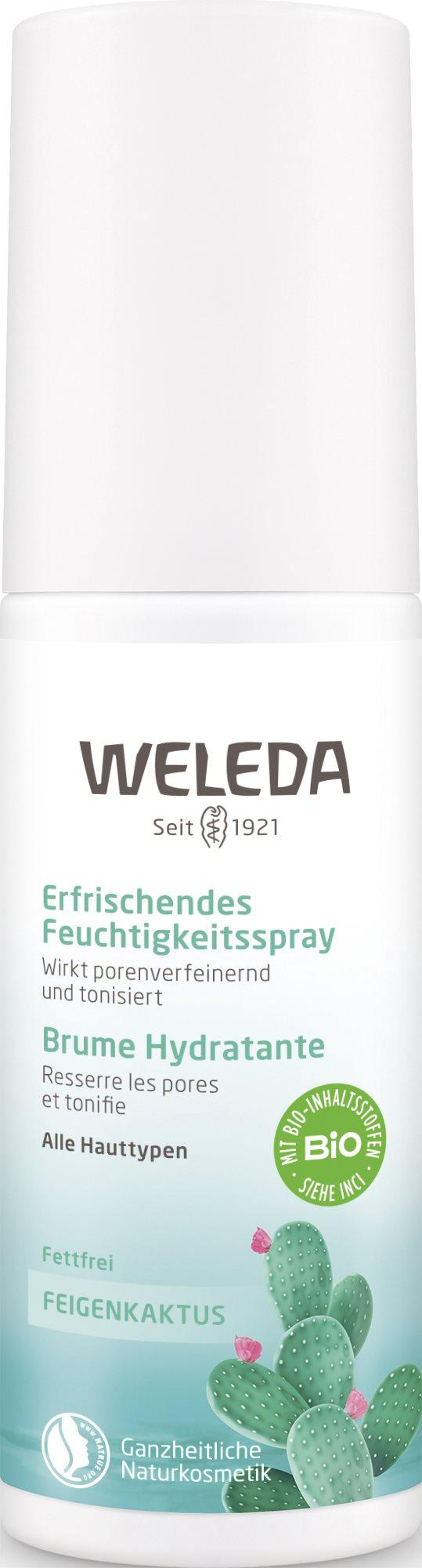 WELEDA Feigenkaktus Erfri Feuchtigkeitsspr 100 ml