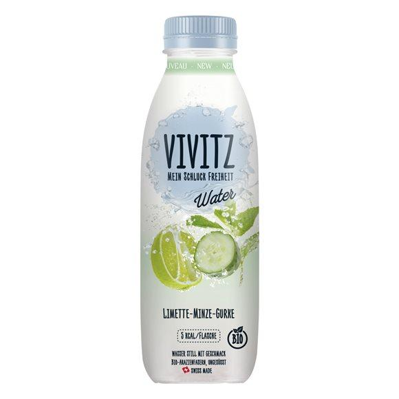 VIVITZ Water Limette-Minze-Gurke Fl 0.5 lt