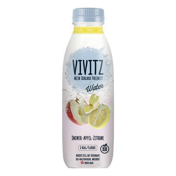VIVITZ Water Ingwer-Apfel-Zitrone Fl 0.5 lt