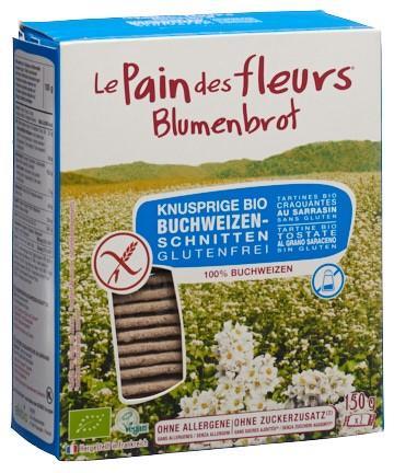 BLUMENBROT Knusprige Schnitten Buchweiz o Z 150 g