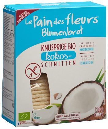 BLUMENBROT Knusprige Schnitten Kokos 150 g