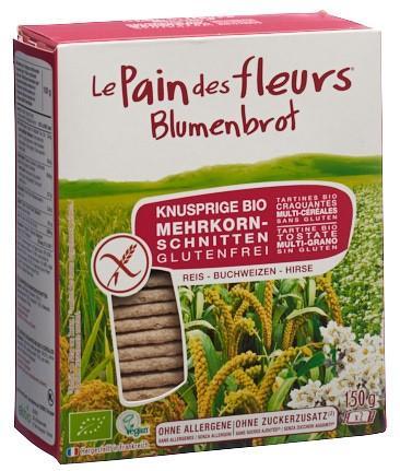 BLUMENBROT Knusprige Schnitten Mehrkorn 150 g