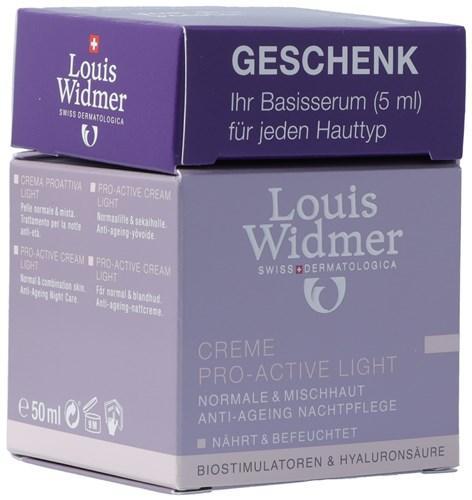 WIDMER Cr Pro Act Light/Extr Lipos par 50 ml