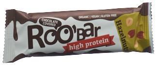 ROOBAR Schokoriegel Haselnuss Protein 40 g