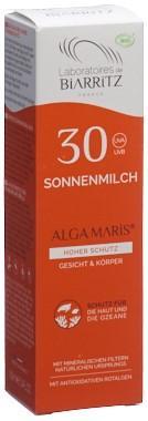 BIARRITZ Sonnenmilch LSF30 Disp 100 ml