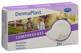 DERMAPLAST Compress Gel 5x5cm 20 Stk