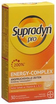 SUPRADYN pro energy-complex Brausetabl 30 Stk