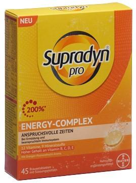 SUPRADYN pro energy-complex Brausetabl 45 Stk
