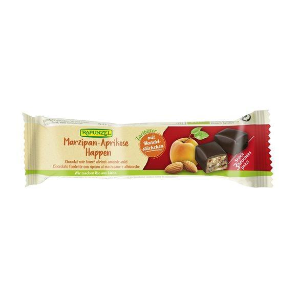 RAPUNZEL Marzipan-Aprikose-Happen Zartbi 50 g