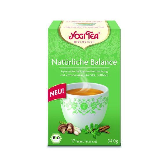 YOGI TEA Natürliche Balance 17 Btl 2 g