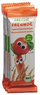 FRECHE FREUNDE Getreiderieg Apfel&Karotte 4 x 23 g