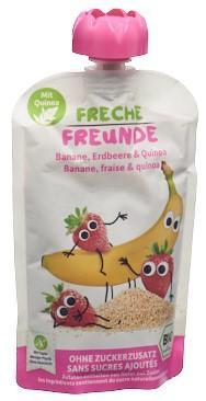 FRECHE FREUNDE Quetschmus Banane Erdb&Quinoa 100 g