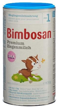 BIMBOSAN Premium Ziegenmilch 1 Ds 400 g