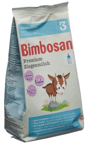 BIMBOSAN Premium Ziegenmilch 3 refill Btl 400 g