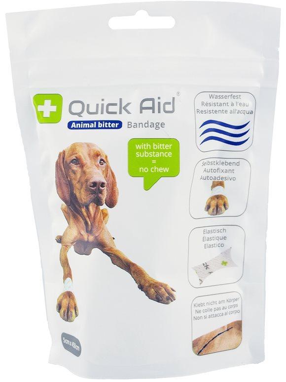 QUICK AID Animal Bitter Bandage 5x450cm