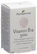 PHYTOPHARMA Vitamin B12 Lutschtabl 500 mcg 30 Stk